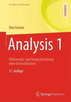 Analysis-1-von-Otto-Forster