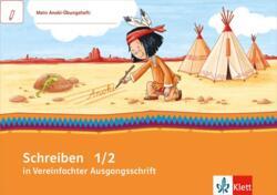 Mein Indianerheft Schreiben üben In Vereinfachter Ausgangsschrift
