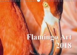 Flamingo Art 2018 UK-Version (Wall ...