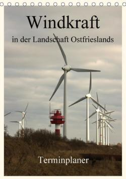 Windkraft in der Landschaft Ostfrieslands ...