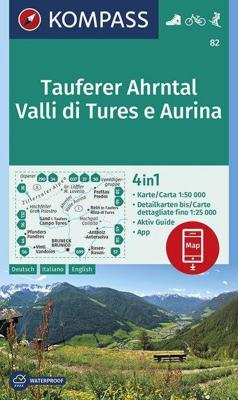 Tauferer Ahrntal, Valle di Tures e Aurina 1:50 000