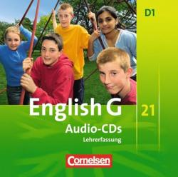 English G 21. Ausgabe D 1. Audio-CDs