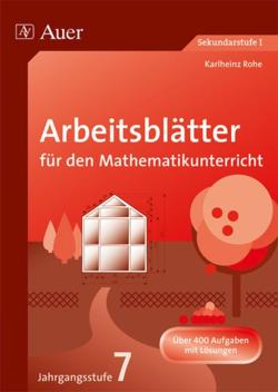 arbeitsbl tter mathematik 7 8 jahrgangsstufe von mayer ilse buch. Black Bedroom Furniture Sets. Home Design Ideas