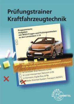 Prufungsbuch Kraftfahrzeugtechnik Von Europa Lehrmittel Verlag Buch24 De