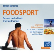Foodsport, 4 Audio-CDs + 1 CD-ROM