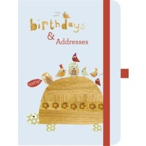Green Address & Birthday Book Cinnamon Aitch