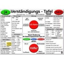 Verständigungs-Tafel - Beatmungs-Patienten -