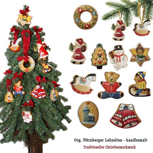 Original Nurnberger Christbaumschmuck Liebevoll Von Hand Bemalte