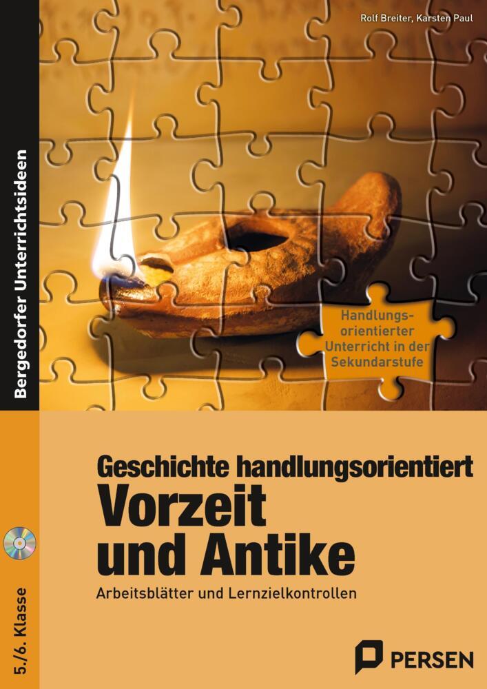 Geschichte handlungsorientiert: Vorzeit und Antike - Arbeitsblätter ...
