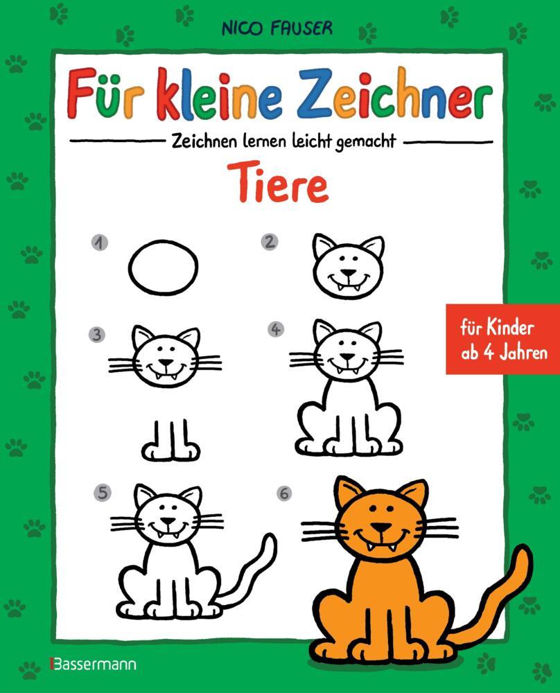 Fur Kleine Zeichner Tiere Von Fauser Nico Buch Buch24 De