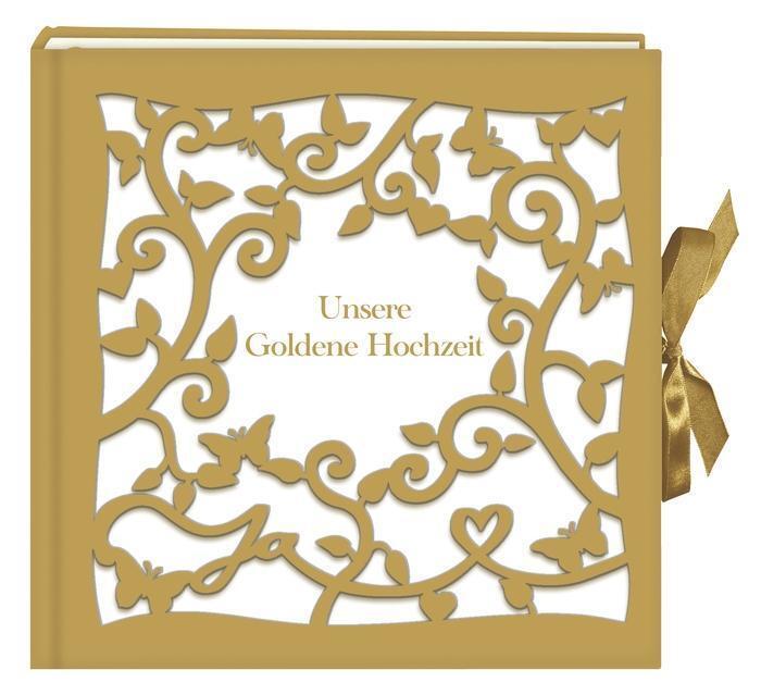 Großes Fotoalbum Gästebuch Unsere Goldene Hochzeit Von