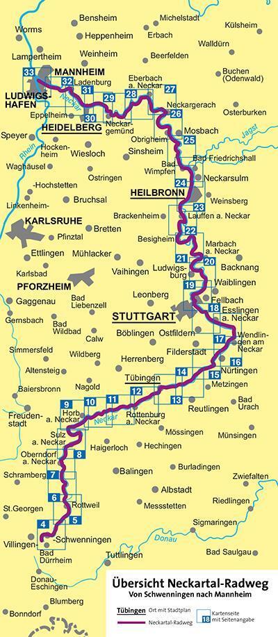 Neckarradweg Karte.Neckarradweg Von Kompass Karten Gmbh Buch24 De