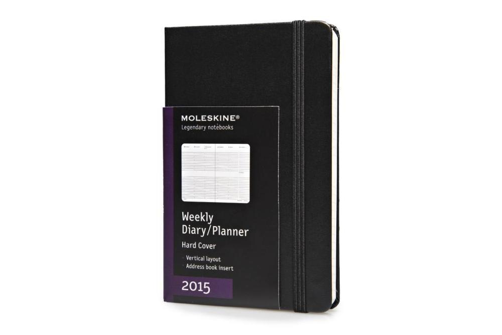 2015 Moleskine Pocket Diary Weekly Vertical Hard - 1 Woche = 2 ...