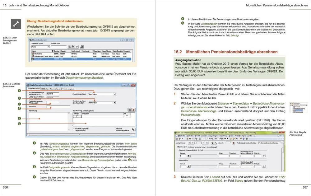 Lenz, G: Praxisnahe Lohn- und Gehaltsabrechnung mit DATEV - Das ...
