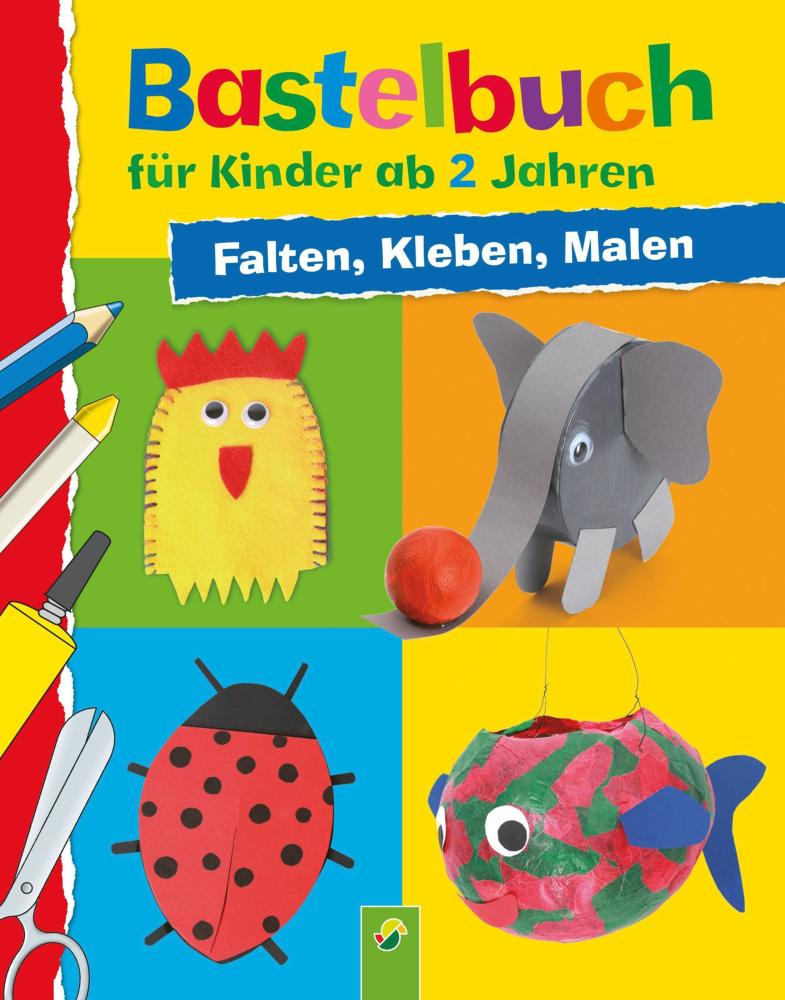 Bastelbuch Fur Kinder Ab 2 Jahren Falten Kleben Malen Von