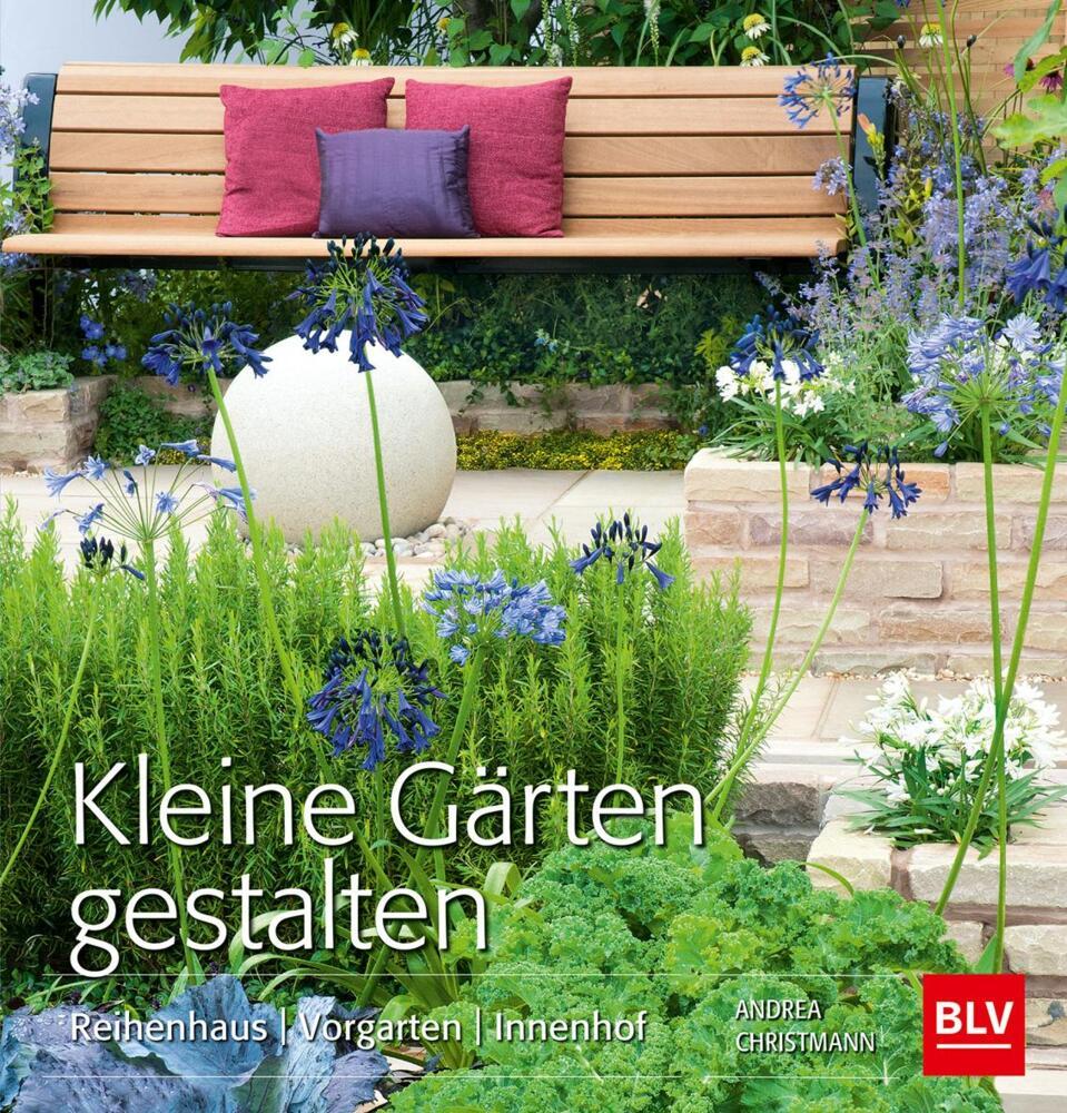 Kleine Gärten gestalten - Reihenhaus Vorgarten Innenhof von ...