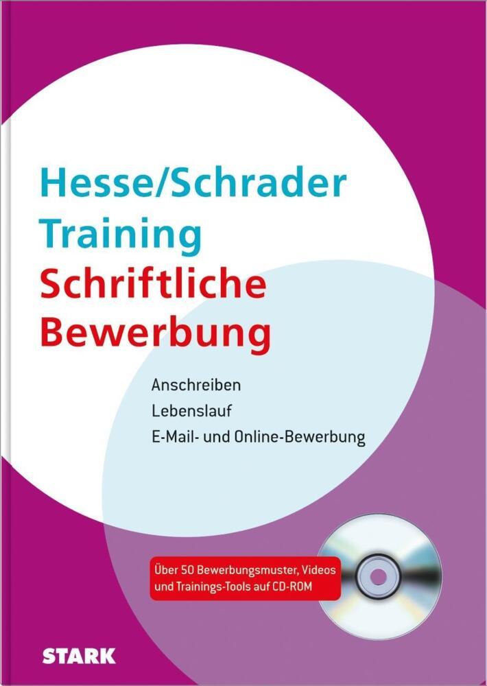 Hesse/Schrader: Training Schriftliche Bewerbung - Anschreiben ...