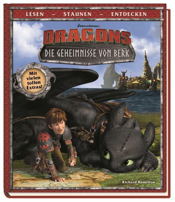 dragons die geheimnisse von berk filmband mit extras von hamilton richard buch. Black Bedroom Furniture Sets. Home Design Ideas