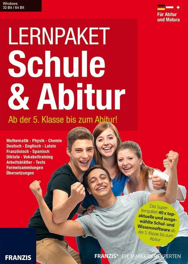 Lernpaket Schule & Abitur 2016/CD-ROM - Für Abitur und Matura von ...
