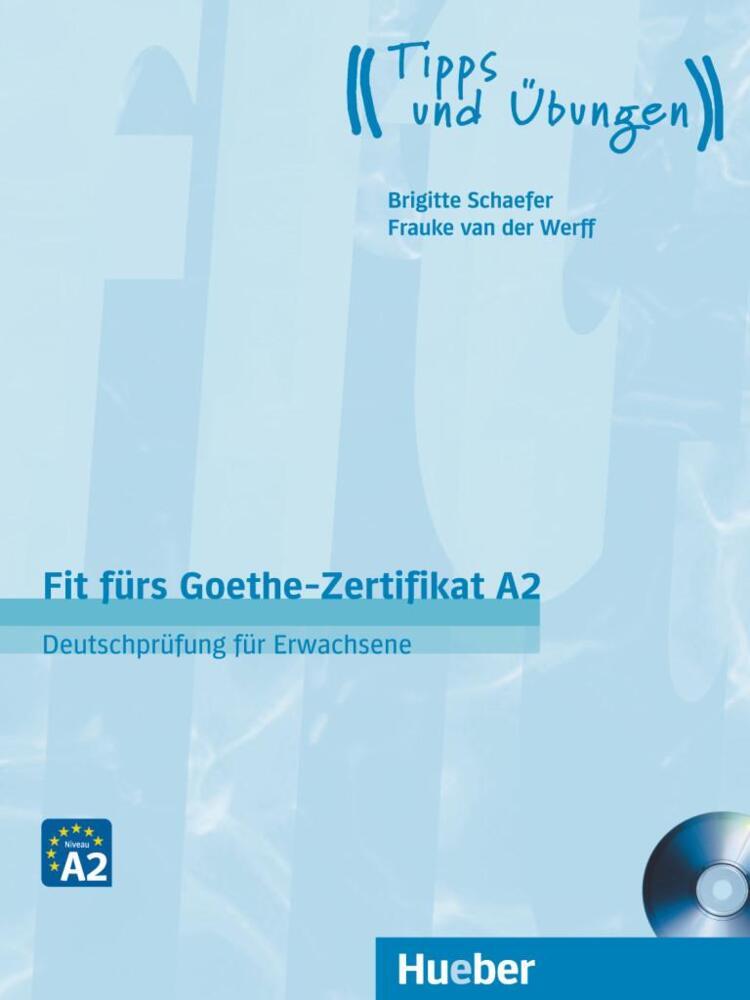 Fit Fürs Goethe Zertifikat A2 Lehrbuch Mit Audio Cd Von Schaefer
