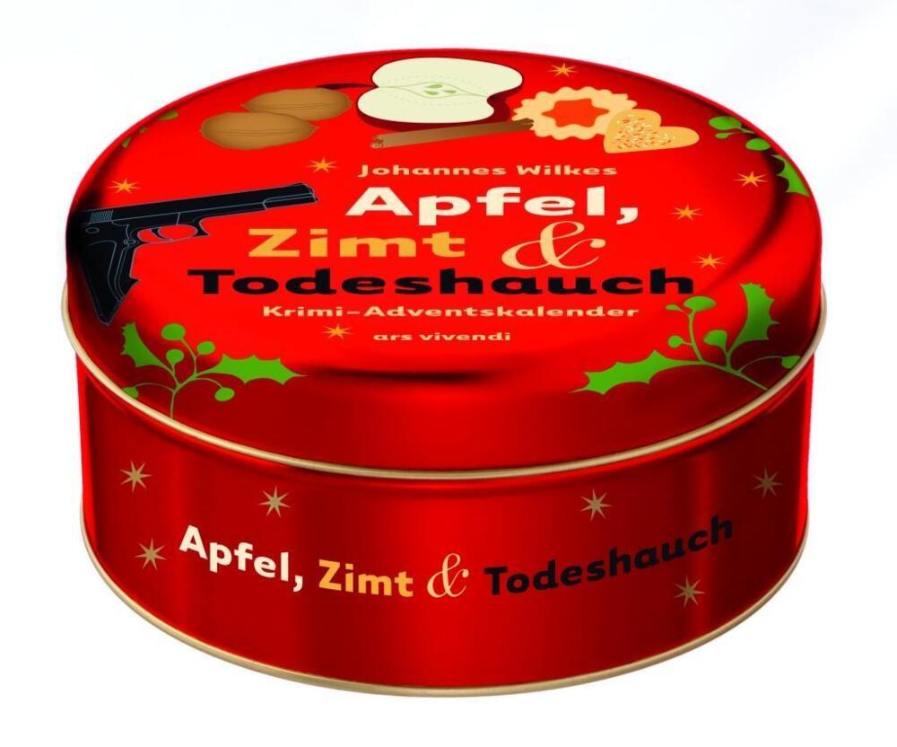Krimi Weihnachtskalender.Apfel Zimt Und Todeshauch Von Wilkes Johannes Kalender Buch24 De