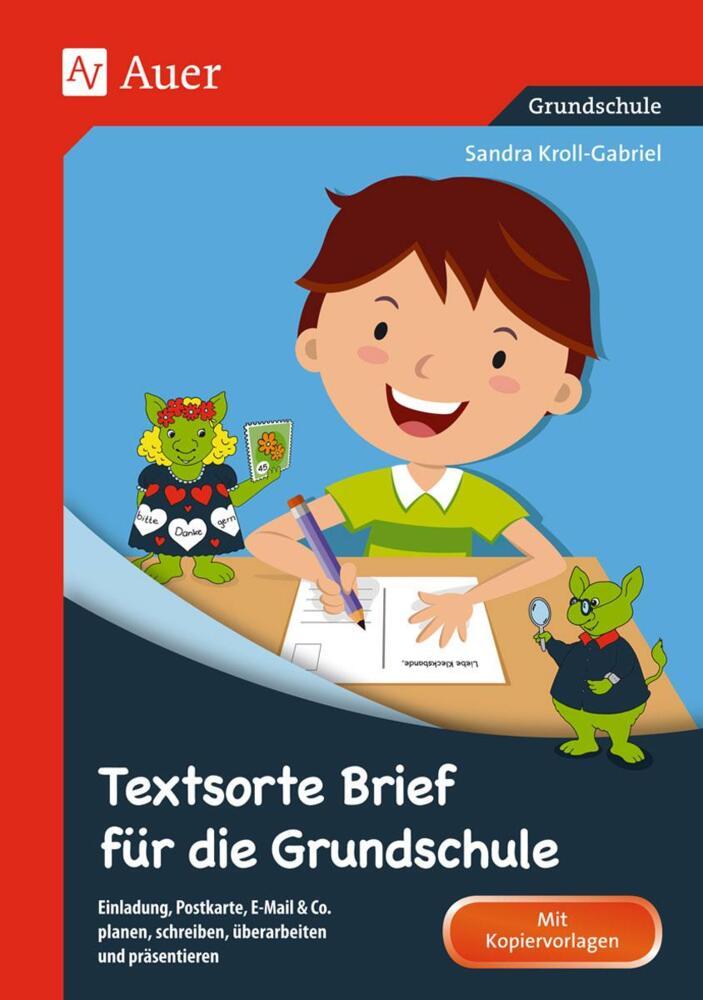 Textsorte Brief Für Die Grundschule Einladung Postkarte E Mail