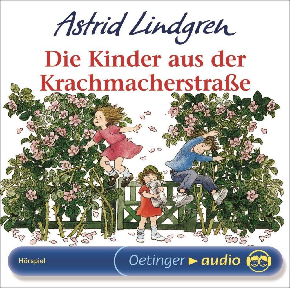 Die Kinder aus der Krachmacherstrasse von Lindgren, Astrid (Hörbuch ...