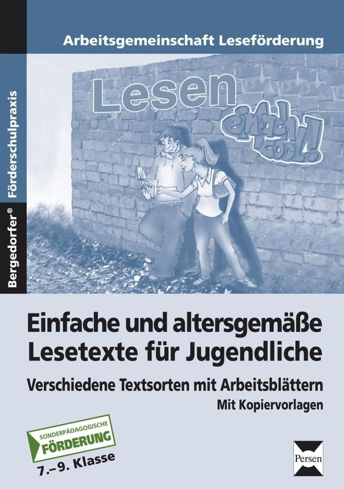 Einfache und altersgemäße Lesetexte für Jugendliche - Verschiedene ...