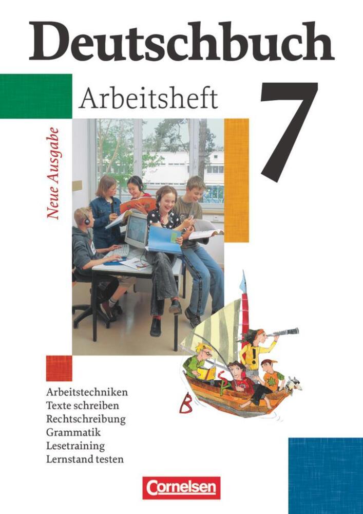 deutschbuch gymnasium 7 schuljahr arbeitsheft mit