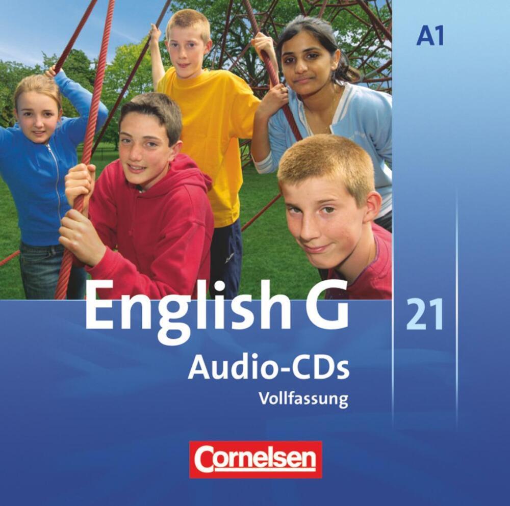 english g 21 ausgabe a 1 audio cds 5 schuljahr von. Black Bedroom Furniture Sets. Home Design Ideas