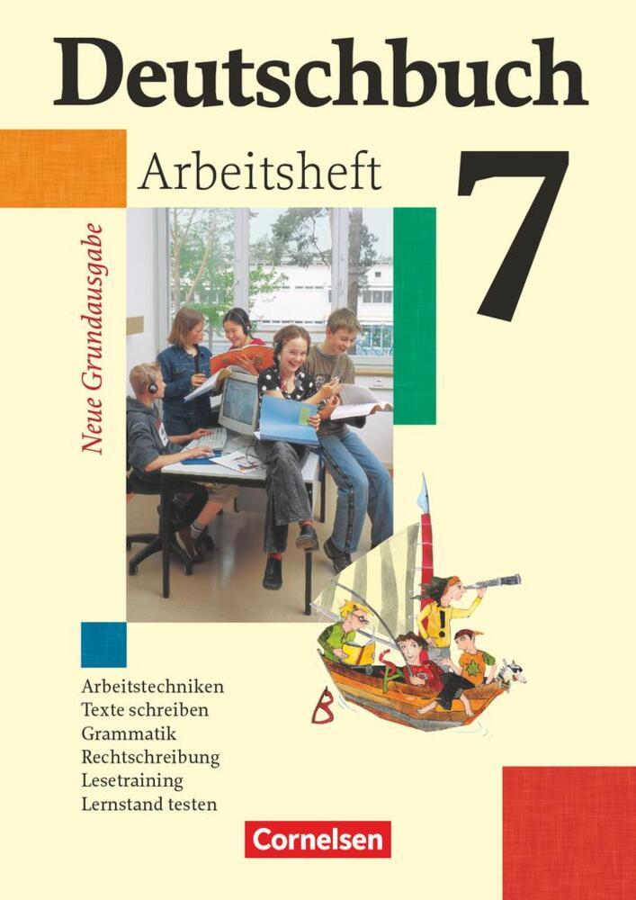 Deutschbuch 7 Schuljahr Arbeitsheft Mit Lösungen Neue