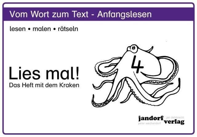 Das Heft mit dem Kraken Lies mal 4