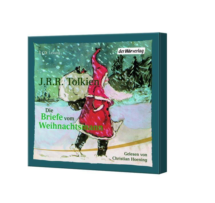 Briefe Von Tolkien : Die briefe vom weihnachtsmann cd von tolkien john ronald