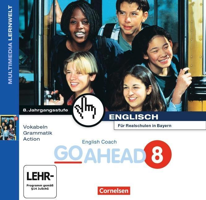 english coach multimedia go ahead 8 cd rom ab windows 95 vokabeln grammatik action mit. Black Bedroom Furniture Sets. Home Design Ideas