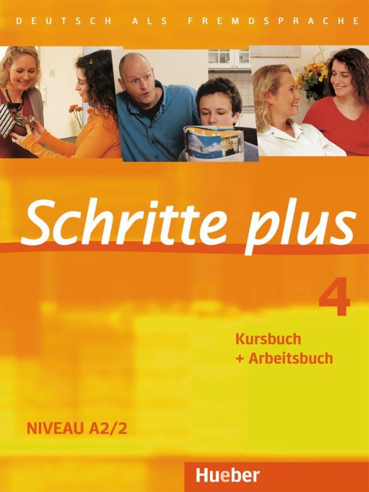 schritte plus 4 kursbuch arbeitsbuch deutsch als fremdsprache niveau a2 2 von hilpert. Black Bedroom Furniture Sets. Home Design Ideas