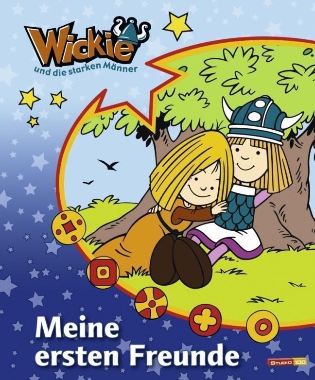 Wickie-und-die-starken-Maenner-Kindergartenfreundebuch-PORTOFREI